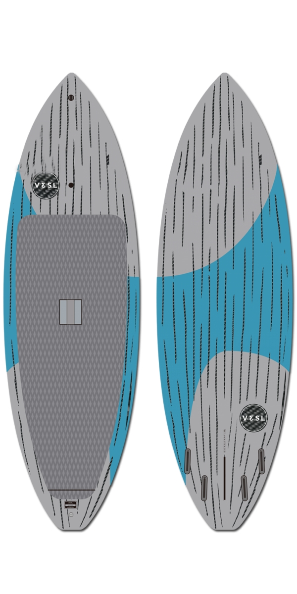 "Vesl 8'10"" Surf SUP Series Carbon Paddleboard"