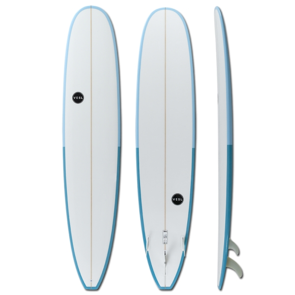 NEW...VESL 9'6 Longboard Blues