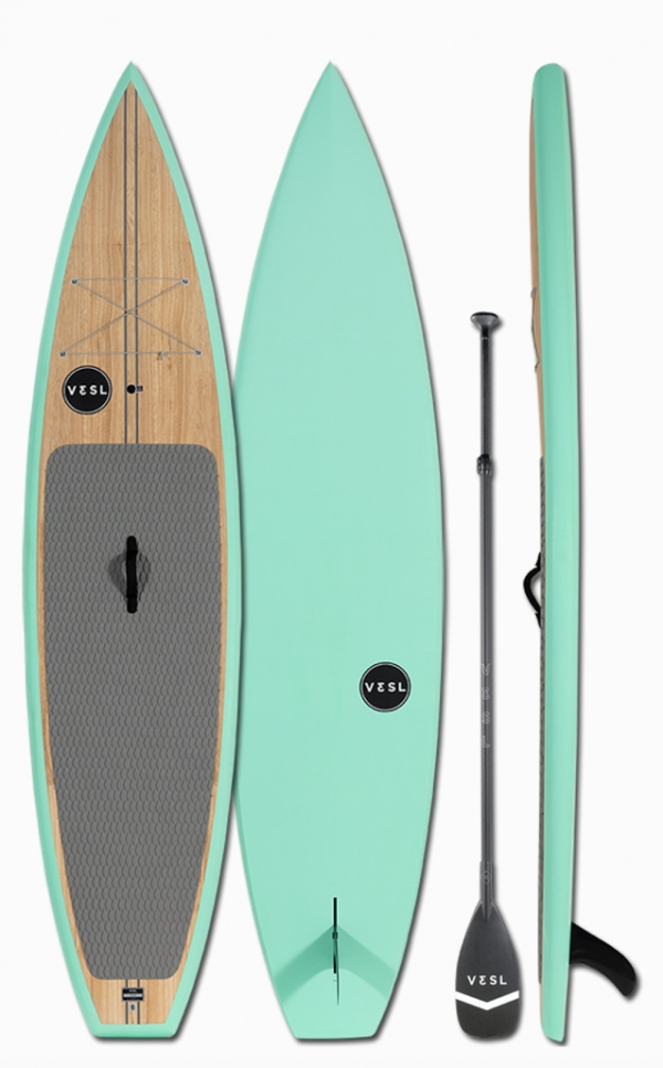 "Vesl 11'0"" Wide All Arounder Premium White Paddleboard"