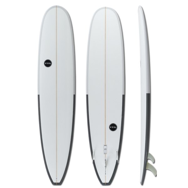VESL 9'0 Longboard Blackies